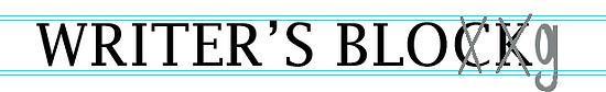 Writer's Block old logo