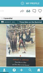 Litsy - Three men on the Bummel